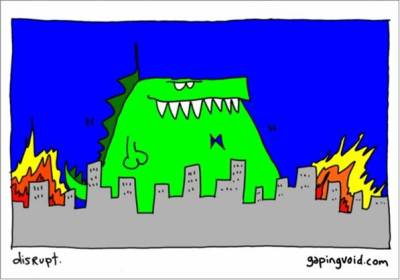 gapingvoid spots the monster in the room...