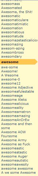 you're awesome! No, YOU'RE awesome!