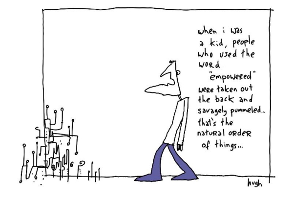 gapingvoid has it right, as usual