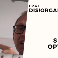 Dis!Organize Ep. 41: Shtick Options.