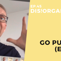 Dis!Organize Ep. 45: Go Public I (Email).