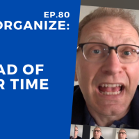 Dis!Organize Ep. 80: Ahead of Your Time.